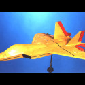 f22 spin scale model