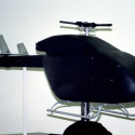 helicopter wind tunnel model