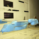 military wind tunnel models