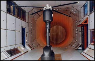 wind tunnel rotor test stand fabrication engineers